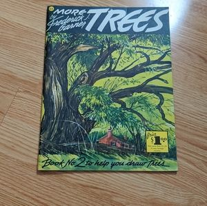 "Vintage ""More Trees"" art book 1960s!!"